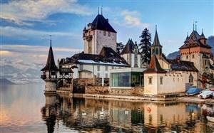 瑞士古堡图片