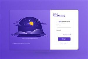 登录网页设计模板