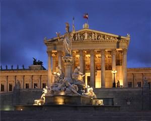 高清欧洲古希腊建筑雕塑风景图片