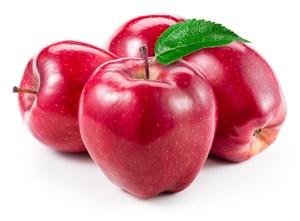 食物好吃的蘋果