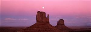 古堡沙漠埃及建筑风景画