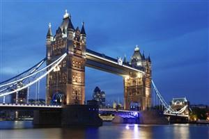 高速天桥欧式风景画