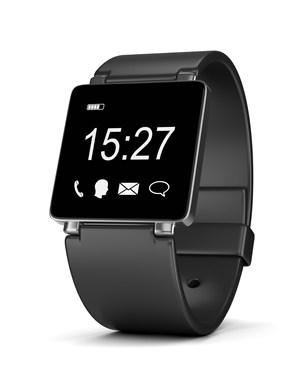 黑色方形智能手表高清图片