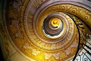 欧式复古螺旋楼梯