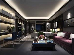 2019年最新流行的现代风格客厅装修效果图