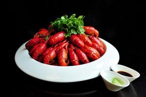 酱汁海鲜小龙虾美食图片