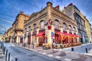 法国咖啡厅图片