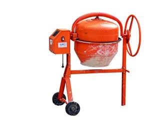 红色混凝土搅拌机
