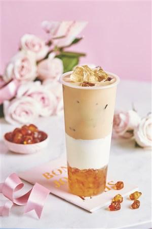 琥珀鲜奶奶茶图片