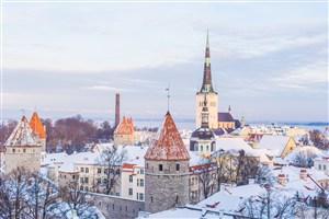 白色建筑美丽欧式城堡街道城市
