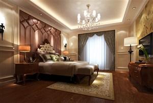 欧式风格宫廷卧室装修效果图