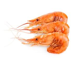 三只熟基圍蝦