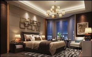 欧式风格卧室窗帘装修效果图