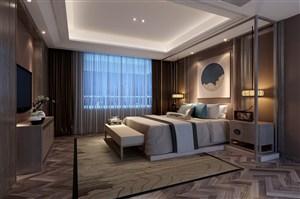 新中式榻榻米卧室设计图片