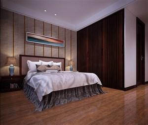 2019最简单的新中式卧室装修效果图