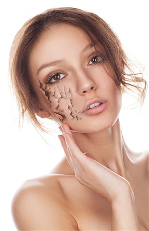 臉部皺紋問題圖片