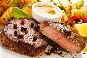 新鲜美味牛排图片