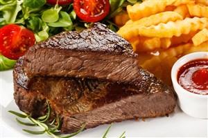 双排牛肉牛排图片