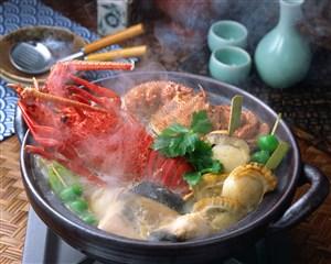 大龍蝦火鍋美食圖片