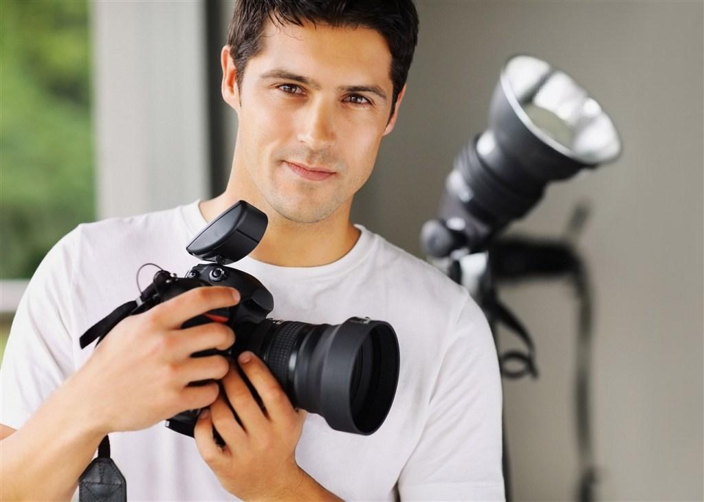摄影师职场人物图片