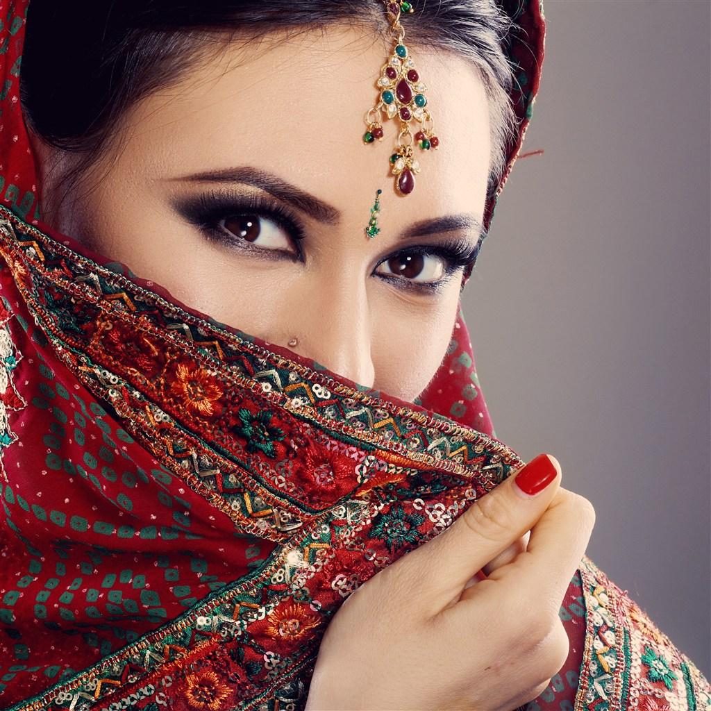 5K高清近照印度美女图片