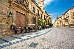 欧洲浪漫小镇街景图片