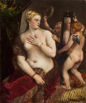 西方古典人體藝術油畫圖片