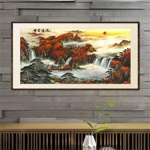 鴻運當頭-中式古典裝飾畫