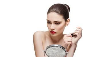 高清护肤品广告模特图片