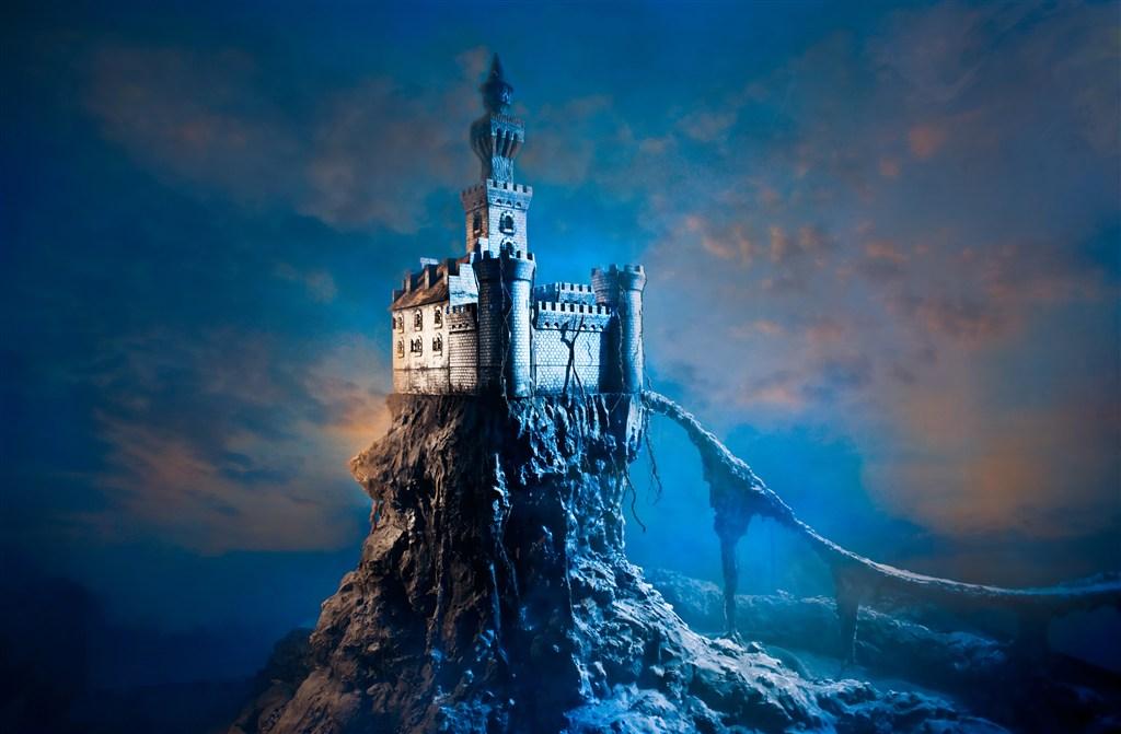 神秘古堡高清图片