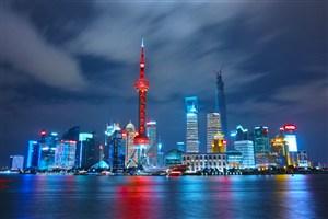 上海外灘城市夜景