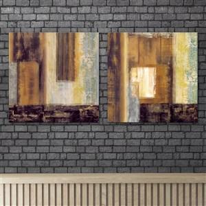 房屋細微特寫抽象裝飾畫